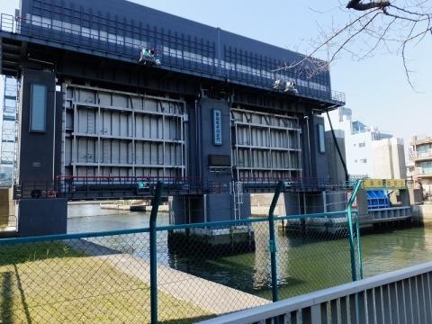 新小名木川水門