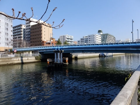 小名木川・高橋水管橋