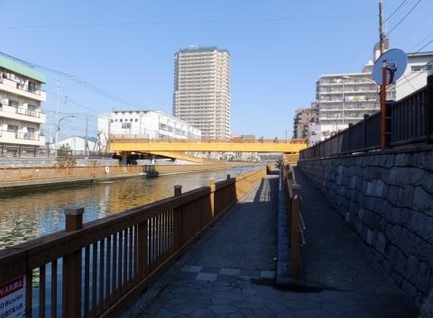 小名木川・塩の道橋付近