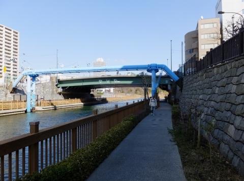 小名木川・番所橋付近