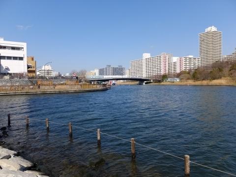 小名木川・旧中川合流点