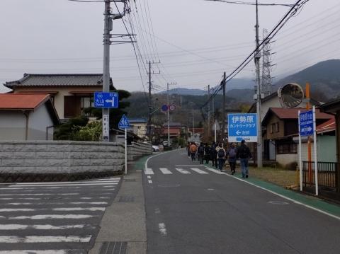 伊勢原市の大山道(県道611号線)