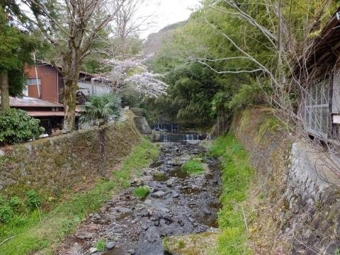 新玉橋より鈴川を望む
