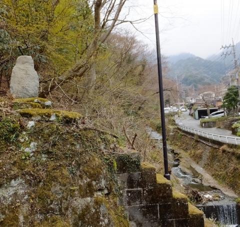 千代見橋より鈴川上流を望む