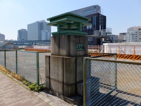 仙台堀川・上の橋親柱