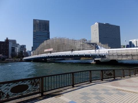 隅田川の永代橋