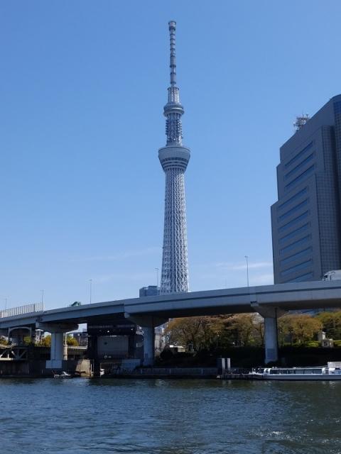 東京スカイツリーと源森川水門
