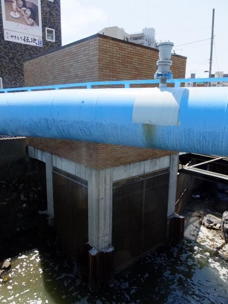北十間川・水質浄化施設