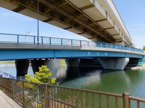 旧中川の逆井橋