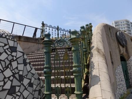 隅田川テラス護岸の階段