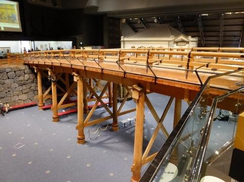 江戸東京博物館・復元日本橋