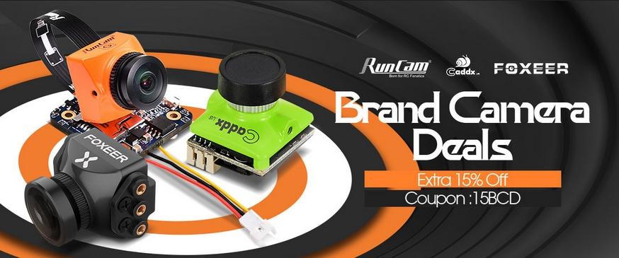 brand camera deals runcam foxeer caddx 15 % off