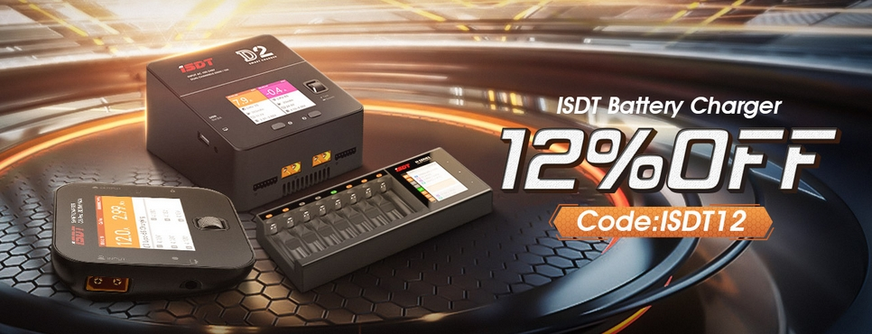 ISDT Battery & Charger Sale