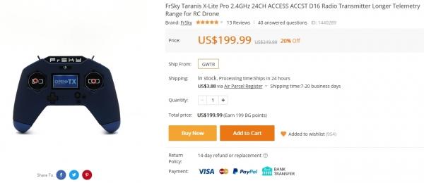 FrSky Taranis X-Lite Pro 24CH ACCESS 送信機 完全レビュー!②