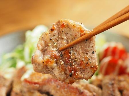 豚ひれ肉のチーズ塩焼き027