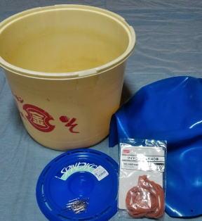 バランスボール樽太鼓 材料