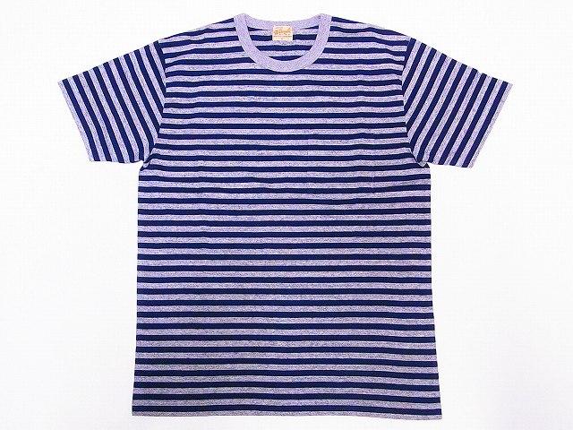 ホワイツヴィル Whitesville ボーダー ポケットTシャツ WV78197