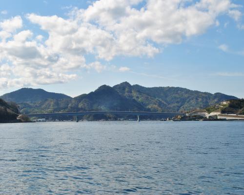 赤松海岸からの眺め