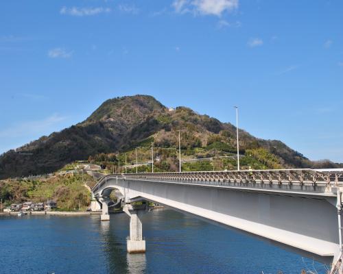 九島大橋(坂下津側)