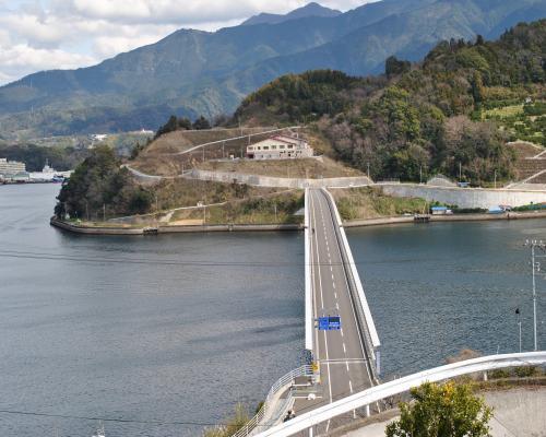 九島大橋(九島側)