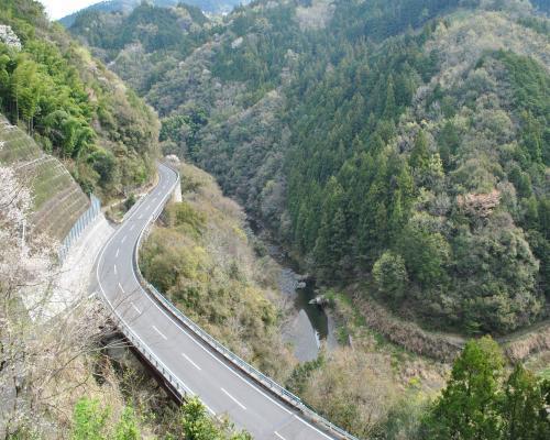 舟戸川の峡谷
