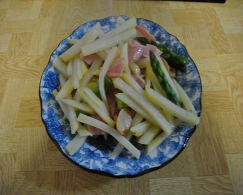 今日のジャガイモ料理