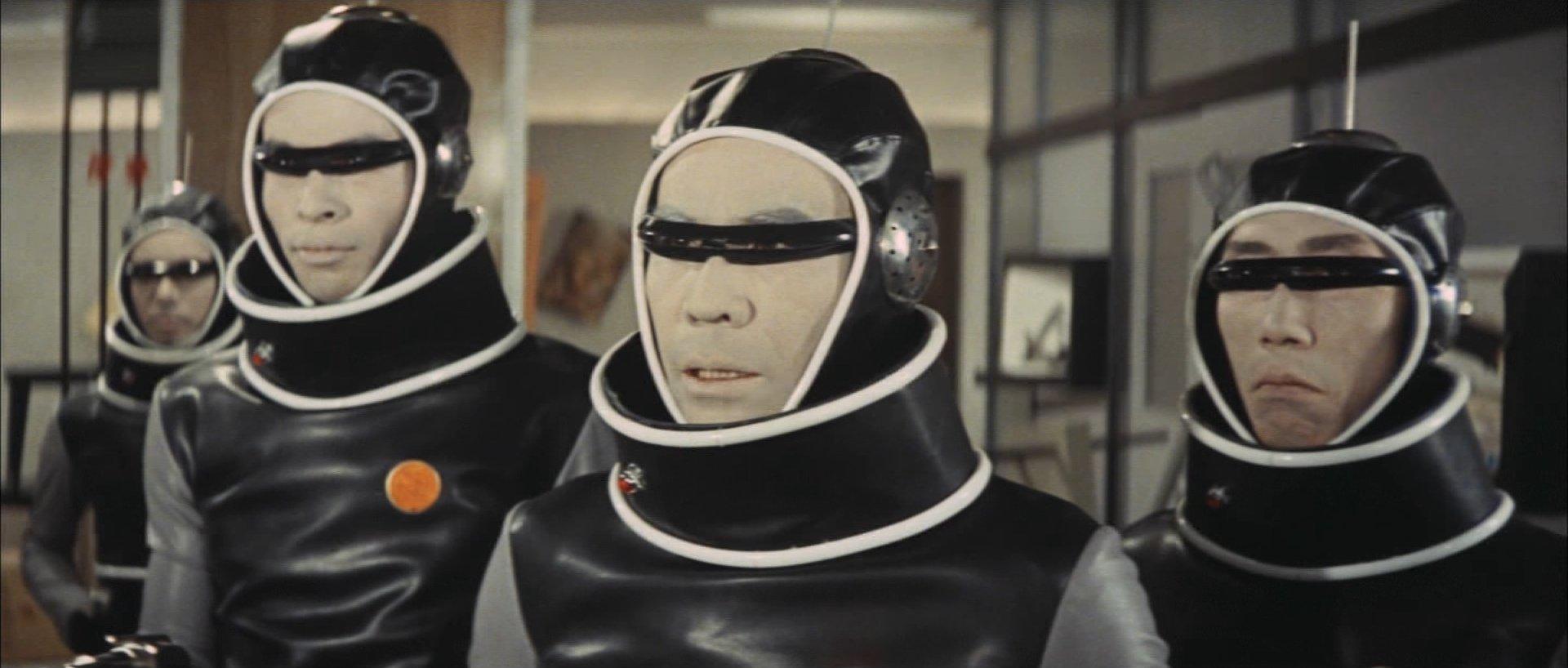 『怪獣大戦争』X星人の帽子とサングラス