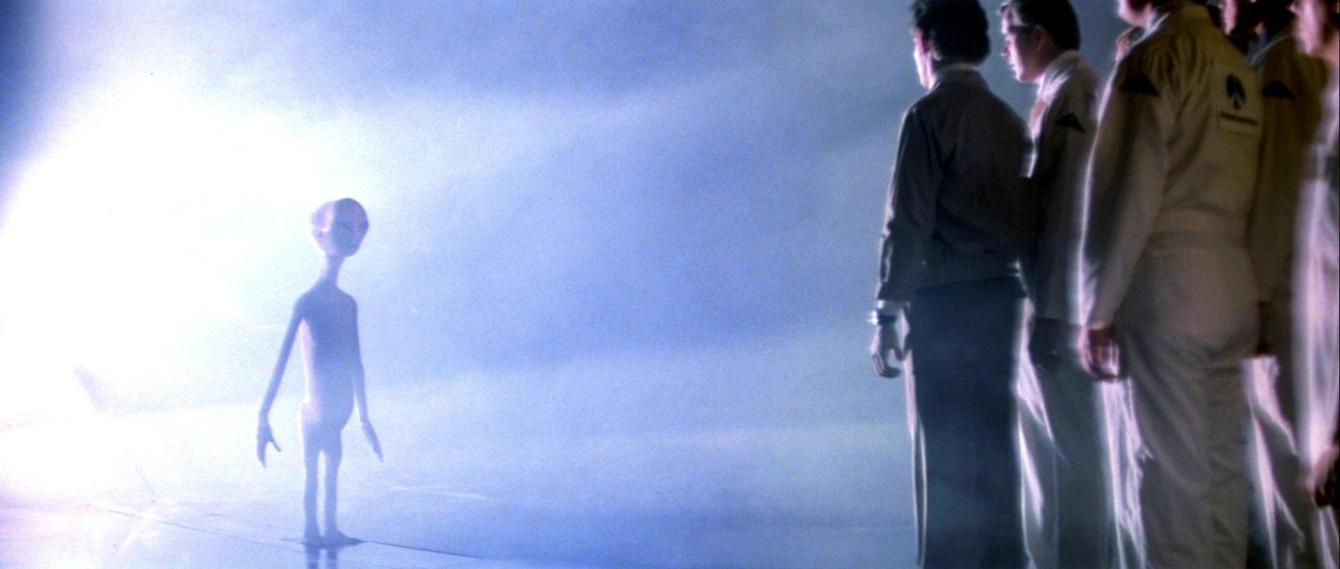 『未知との遭遇』宇宙人