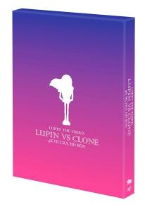 『ルパン三世』4K UHD BD パッケージ