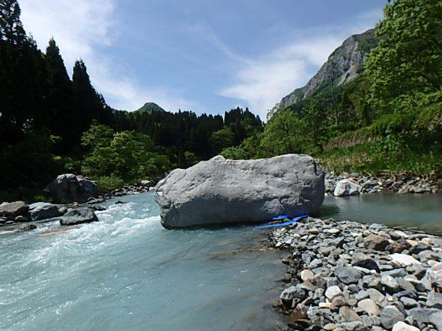 唯一の小滝川10