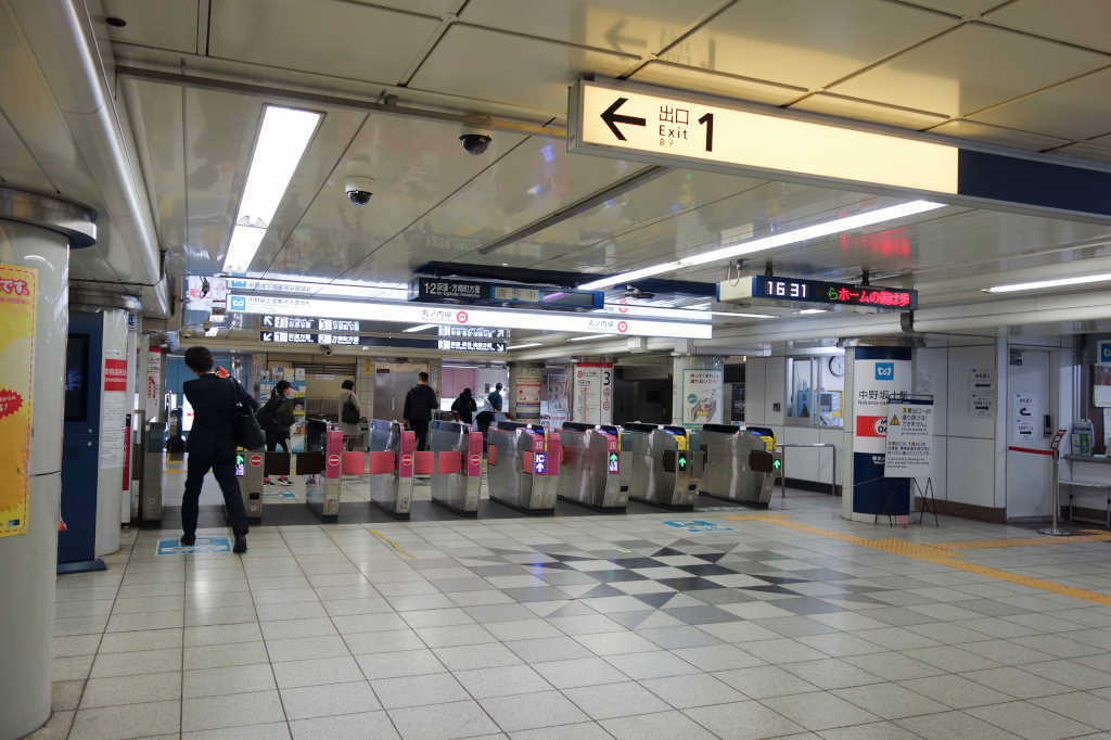 中野坂上駅05
