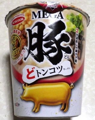2/25発売 MEGA豚 どトンコツラーメン(2019年)