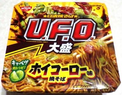 3/18発売 日清焼そば U.F.O. 大盛 ホイコーロー味焼そば