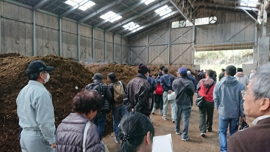 有機農業勉強会参加1月