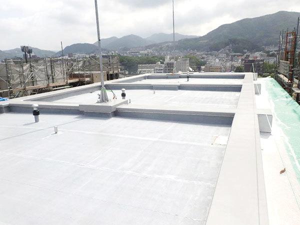 2019/05/31 R階 防水完了