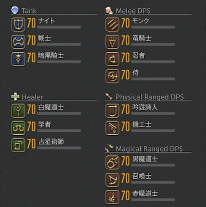 FF14 カンスト