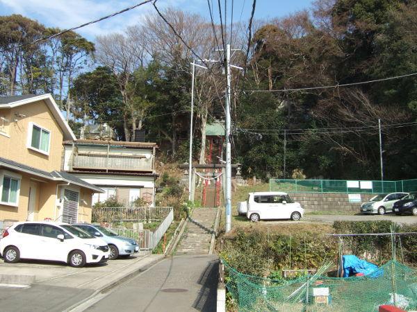 平戸永谷川桜神社前01