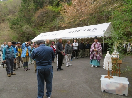 カラ迫岳山開き 2019-04-14 041