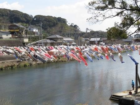 川上峡鯉幟 2019-03-23 058
