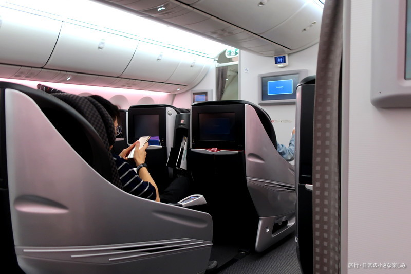 JAL787 搭乗記 機内食