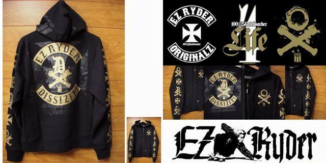 4-1 b EZ Ryder Originalz x Dissizit ジップ・パーカー761483_ezr00016_lb