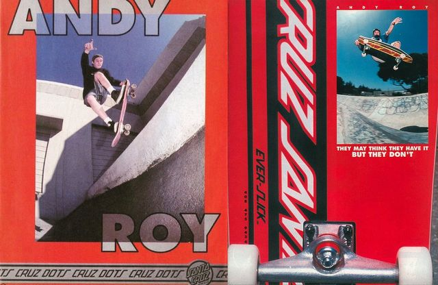 Santa Cruz ADs 1991 featuring young Andy Roy 640x416