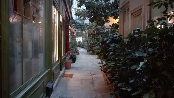 パッサージュ・ドゥ・ランクル/passage de l'Ancre