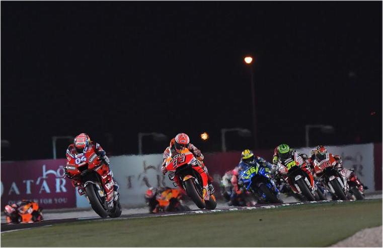 MotoGP開幕戦カタールGP [ MotoGP 中上貴晶 シングル/Moto3 鳥羽海渡 優勝 ]