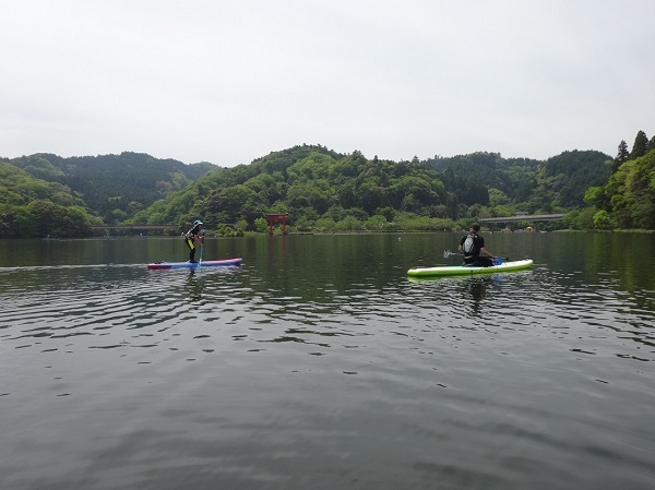 190503亀山湖SUP  (10)