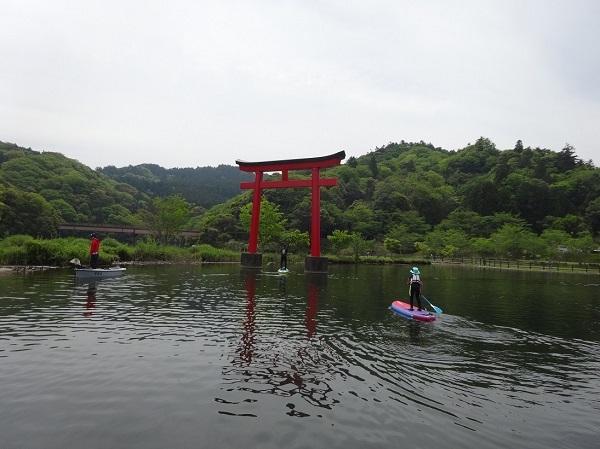 190503亀山湖SUP  (13)