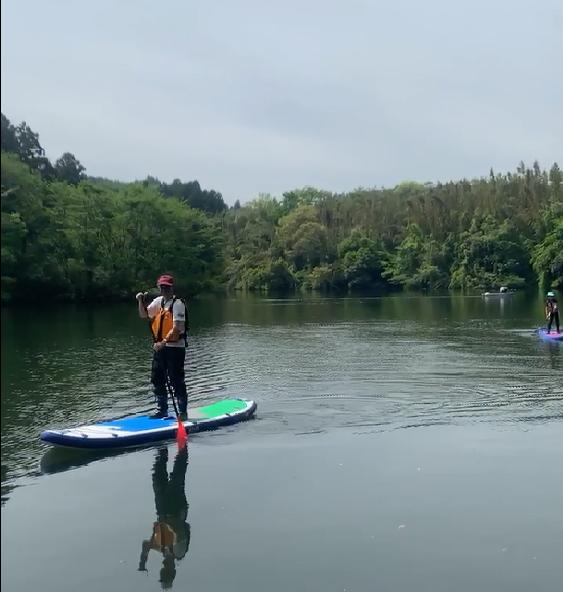 190503亀山湖SUP  (1)