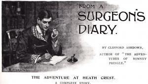 Surgeon's Diary 1