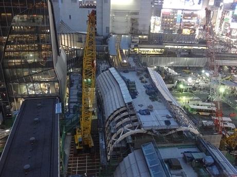 2019ヒカリエから渋谷駅