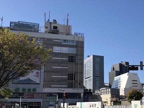 22新宿駅